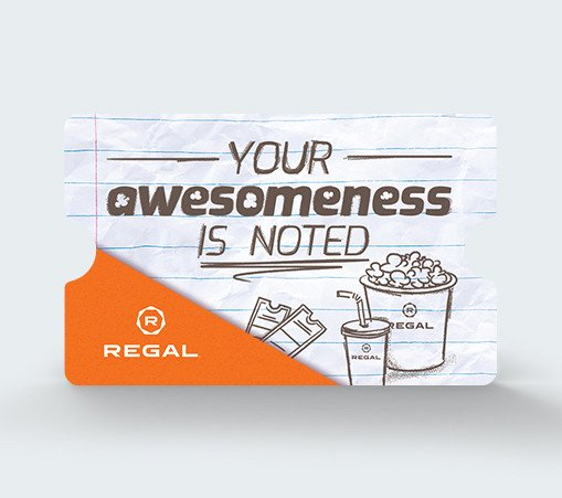 Awesomeness  Is Noted Gift Card